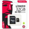32GB Kingston Micro SD Card - CLASS 10
