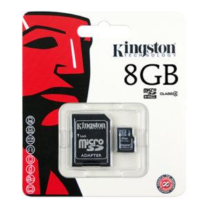 8GB Kingston Micro SD Card - CLASS 4