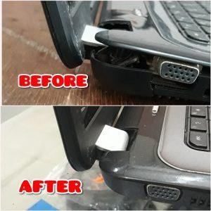 Laptop Broken Plastic Repair HP Pavilion G6-1000