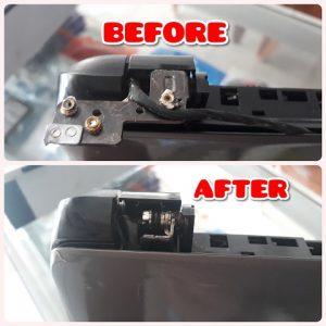 Laptop Broken Plastic Repair HP Pavilion 15-R